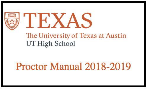 Proctor Manual